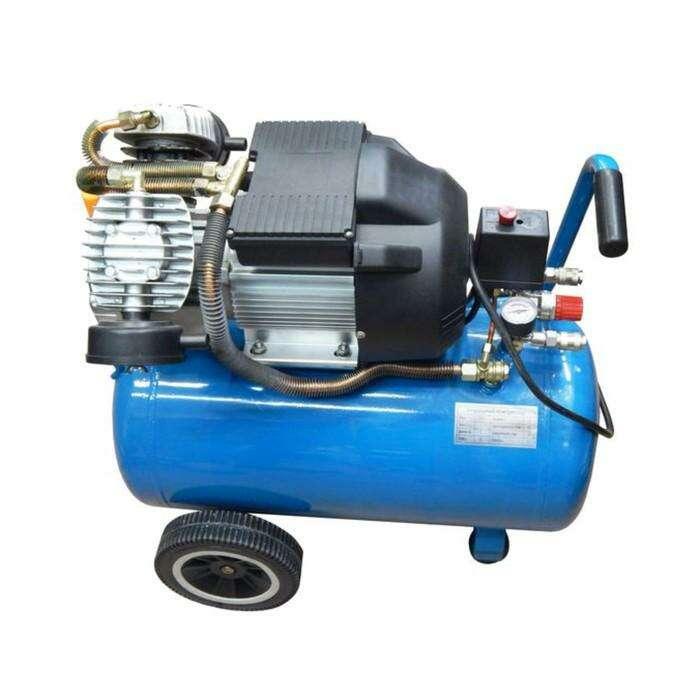 Компрессор Forsage F-V30/50, 2-х поршневой с прямым приводом, 2.2 кВт, 50л, 8 бар, 356л/м