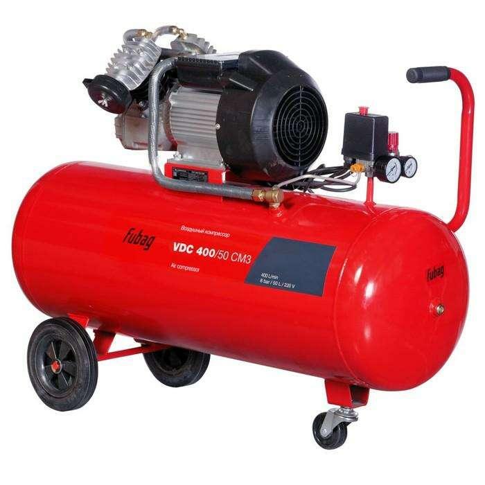 Компрессор Fubag VDС 400/50 CM3, 400 л/мин, 50л, 8бар, 2.2кВт