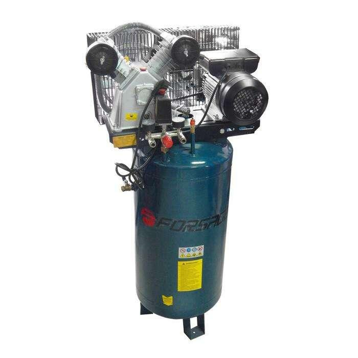 Компрессор Forsage F-TB265-100, 2-х поршневой, вертикальный, 2.2 кВт, 100л, 250 л/м