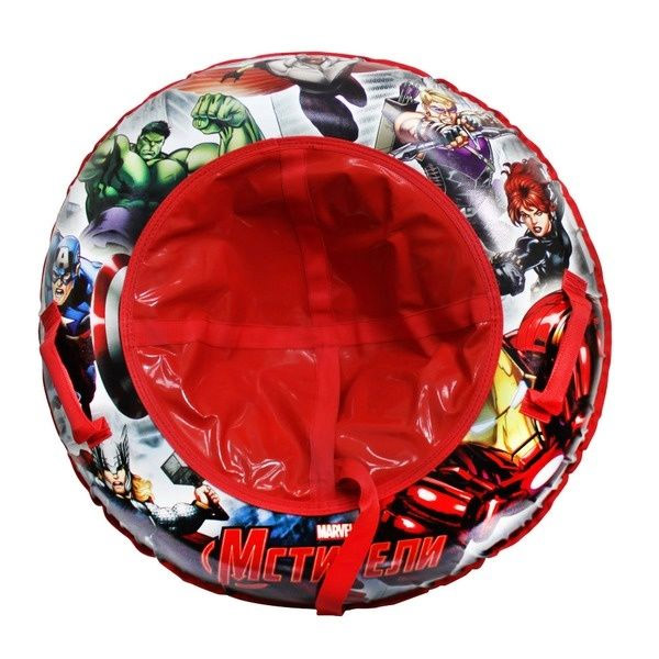 Тюбинг 1toy Надувные сани Marvel Avengers 85см