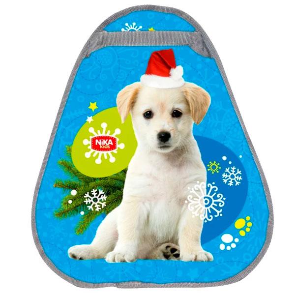 Ледянка мягкая Nika kids 460х400мм с рисунком щенка (ЛГ46/Щ2)