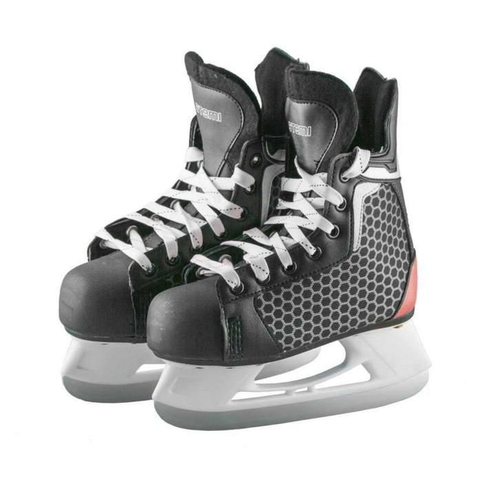 Коньки хоккейные PULSAR RED, размер 40