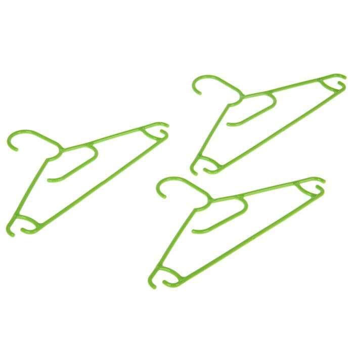Плечики для одежды набор 3 шт (360584) TORO