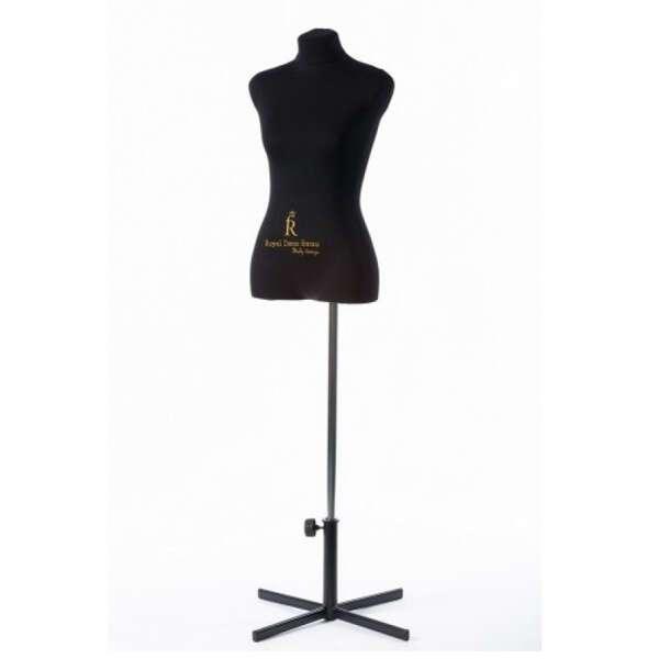 Портновский Манекен Royal Dress Forms Christina черн. ( р-р 50)+стойка Звезда