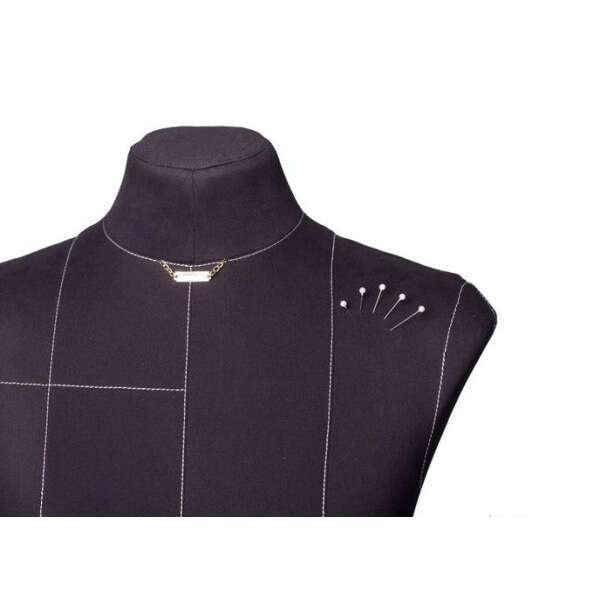 Портновский Манекен Royal Dress Forms Monica черный ( р-р 42)+стойка Милан