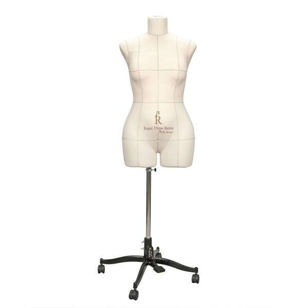 Портновский Манекен Royal Dress Forms Monica беж ( р-р 48)+стойка Милан