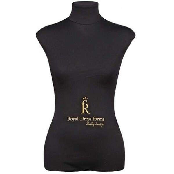 Портновский Манекен Royal Dress Forms Christina черн.( р-р 46)+стойка Звезда