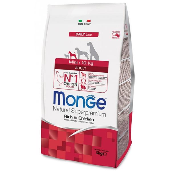 Сухой корм Monge Mini Adult для мелких пород собак