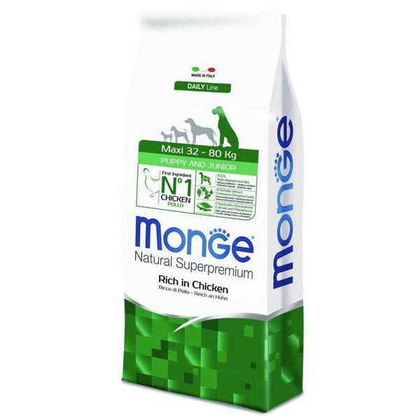 Сухой корм Monge Maxi Puppy & Junior для щенков крупных пород