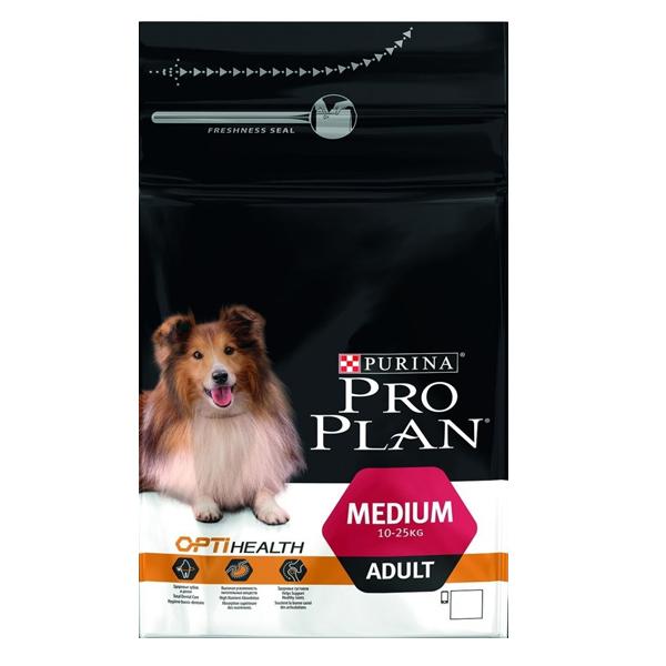 Сухой корм Pro Plan Adult Medium для взрослых собак средних пород с курицей 3 кг