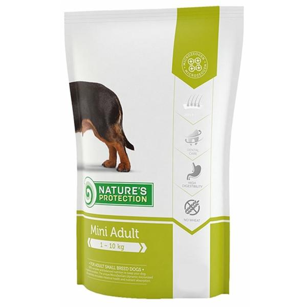 Сухой корм Nature's Protection Mini Adult для взрослых собак мелких пород 2 кг