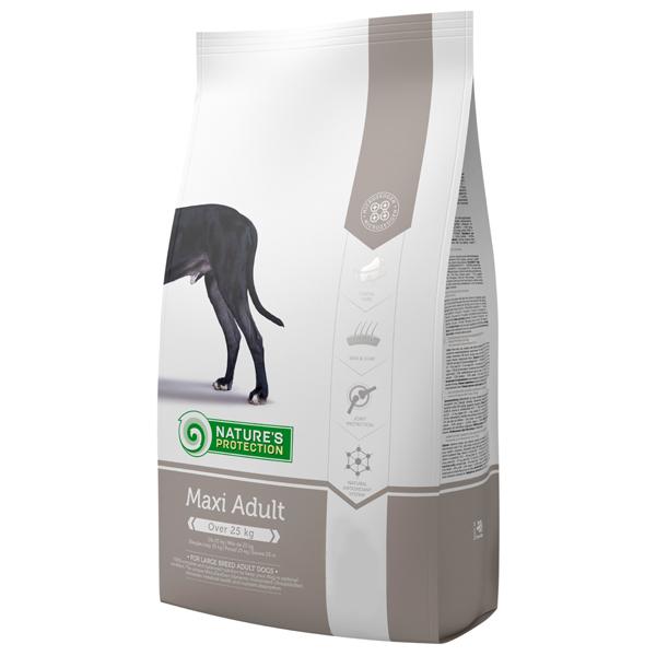 Сухой корм Nature's Protection Maxi Adult для взрослых собак крупных пород старше 1,5 лет 12 кг