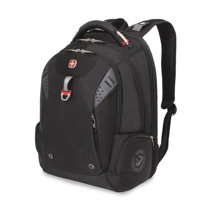 Рюкзак Wenger 15, чёрный, полиэстер, 900D, 47 х 34 х 20, 31 л