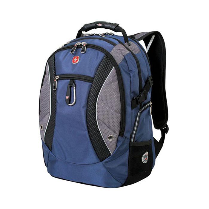 Рюкзак Wenger 15, синий/серый, 900D, 48 х 23 х 35 см, 39 л