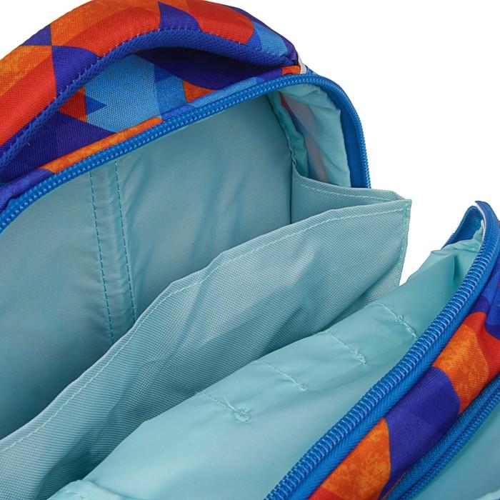Рюкзак школьный эргономичная спинка для мальчика Target 45*34*21 суперлегкий Murales, синий 21360