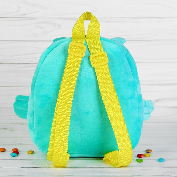 """Мягкий рюкзак """"Сова с вышивкой"""""""