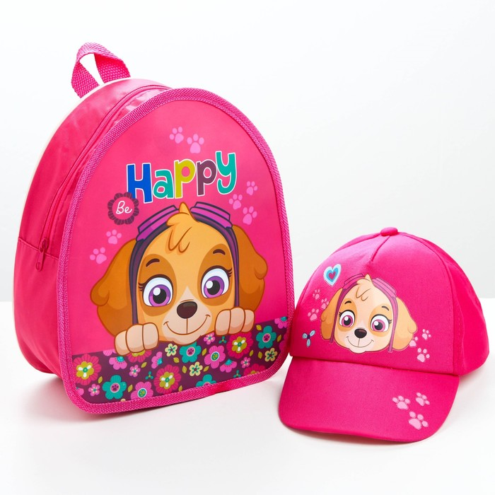 """Детский набор Paw Patrol """"Скай"""" (кепка и рюкзак)"""