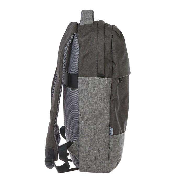 Рюкзак молодёжный GoPack 139 45 х 30 х 10 см, серый