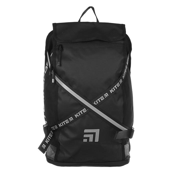 Рюкзак молодёжный Kite Sport 917 45 х 27 х 14 см, чёрный