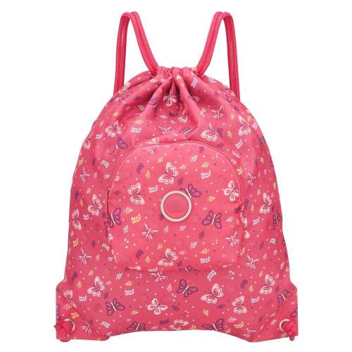 Детская спортивная сумка Delsey School 2018 Sport's Bag Peony Розовый