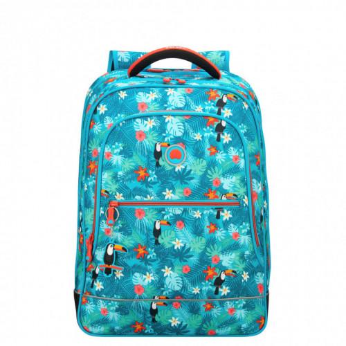 Детская спортивная сумка Delsey School 2018 Sport's Bag Turquoise Бирюзовый