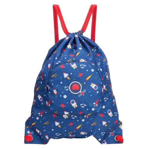 Детская спортивная сумка Delsey School 2018 Sport's Bag Navy Синий
