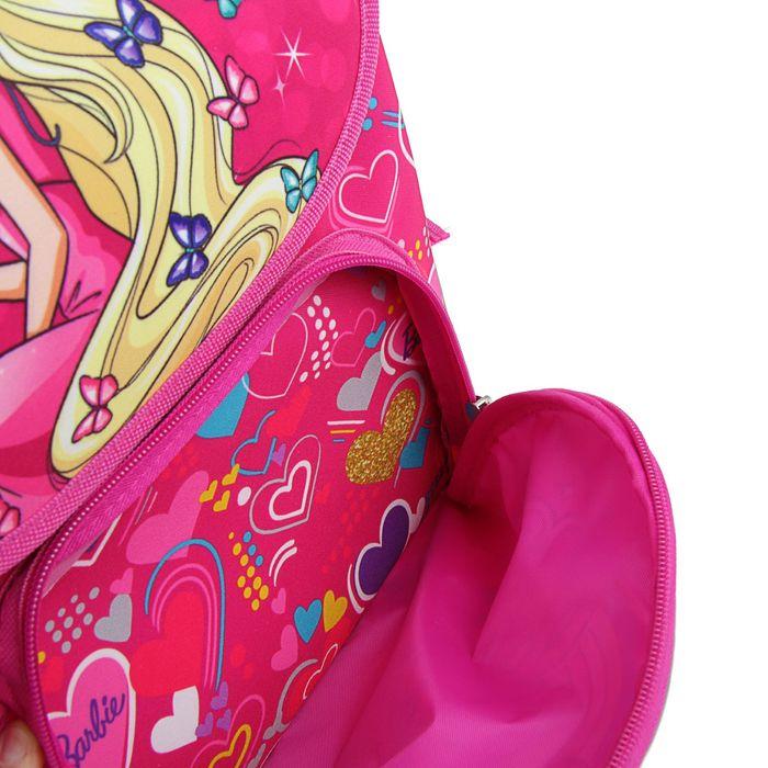 Ранец Limpopo Premium box 35x28x16 см, Barbie, розовый
