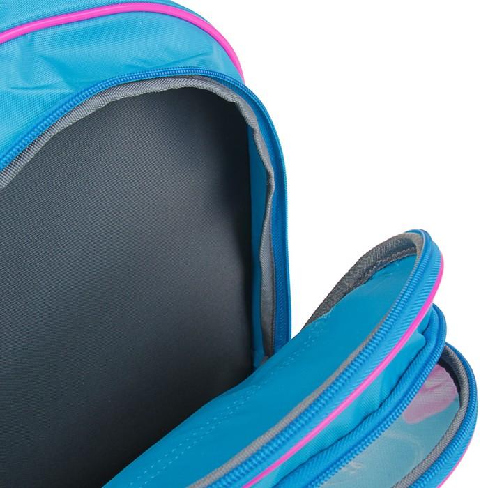 Рюкзак школьный с эргономической спинкой Luris Пиноккио 36x23x13 см для девочки, «Собачка»
