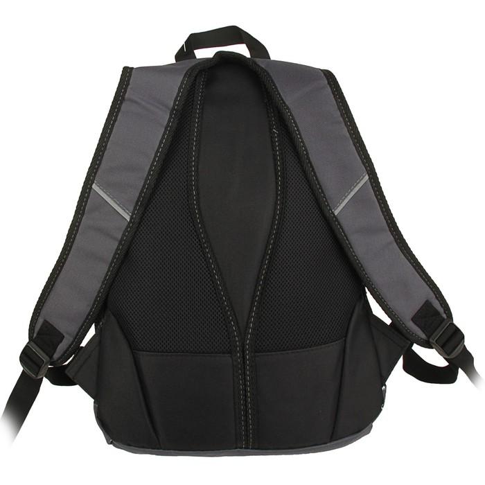 Рюкзак молодёжный Stavia 44 х 30 х 17 см, эргономичная спинка, «Юность», серый