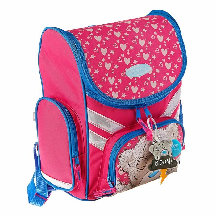 Ранец Стандарт Barbie, 35 х 26.5 х 13 см, для девочки, EVA-спинка, розовый