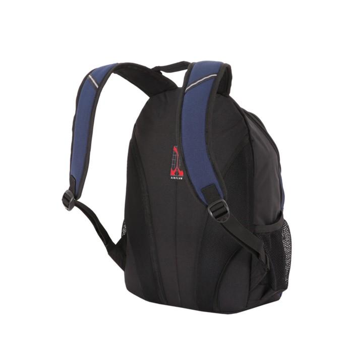 Рюкзак Wenger с отделением для ноутбука 15, 31912, 45 х 33 х 15, 22 л, синий/чёрный/бирюзовый, 600D/2 мм, рипст/фьюж