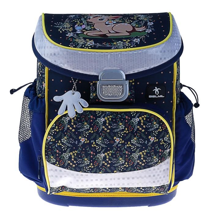 Ранец на замке Belmil Mini-Fit, 36 х  28 х 17 см, для девочки, Magical Forest