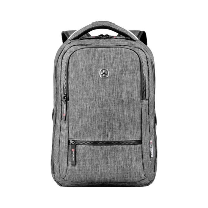 Рюкзак молодёжный, эргономичная спинка, Wenger 14, 41 х 26 х 19, 14 л, тёмно-серый