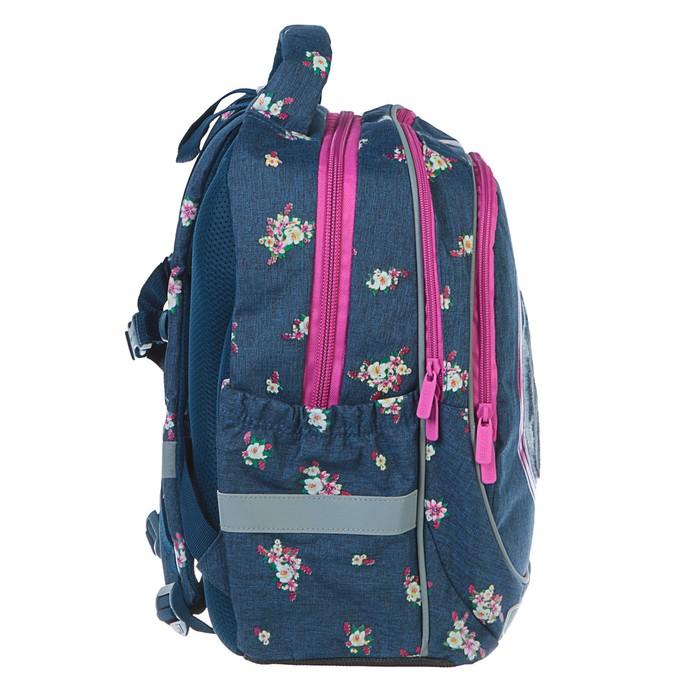 Рюкзак школьный Kite 700, 38 х 28 х 16 см, эргономичная спинка, для девочки, Beautiful horse