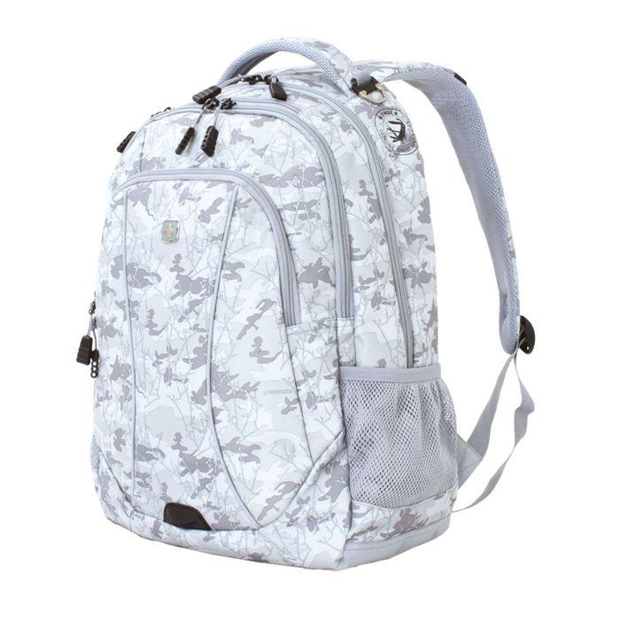 Рюкзак Wenger 15, серый камуфляж, полиэстер, 900D, 48 х 37 х 19 см, 34 л