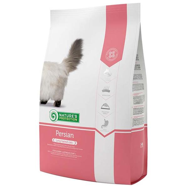 Сухой корм Nature's Protection Persian для взрослых длинношерстных кошек 7 кг