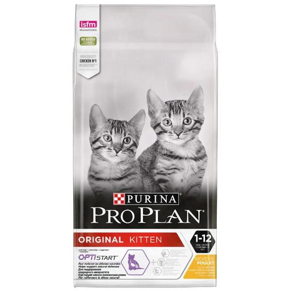 Сухой корм Pro Plan Junior для котят с курицей 10 кг