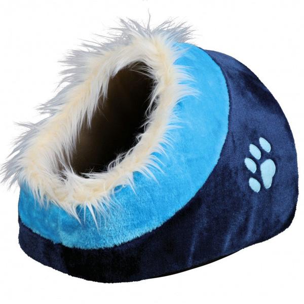 Место для сна Trixie Minou для кошек и мелких пород собак, синее