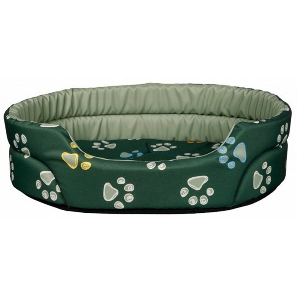 Лежак Trixie Jimmy для собак, зеленый 45x35 см