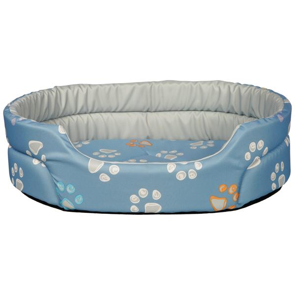 Лежак Trixie Jimmy для собак, голубой 45x35 см