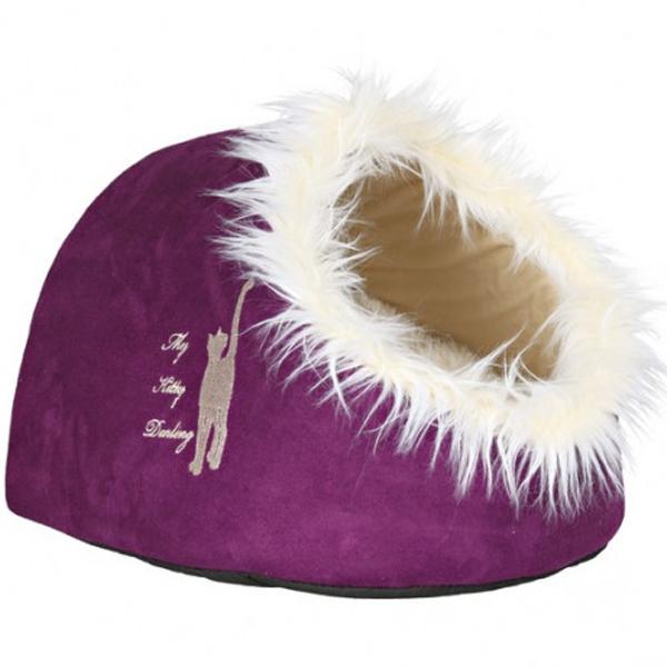 Место для сна-домик Trixie для кошек, фиолетовый