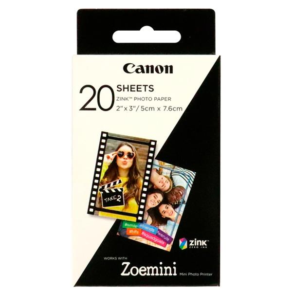 Фотобумага Canon ZINK ZP-2030 20 листов