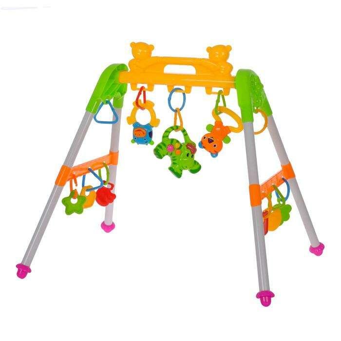 Игровой развивающий центр с погремушками «Зоопарк»