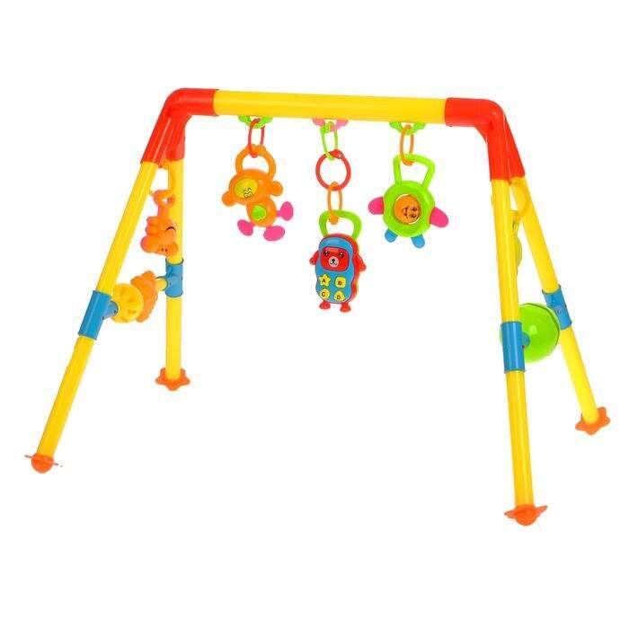 Игровой развивающий центр с погремушками «Слонёнок»