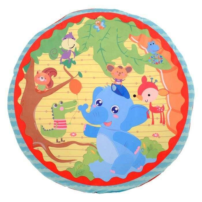 Игровой развивающий центр с ковриком «Слонёнок и друзья»