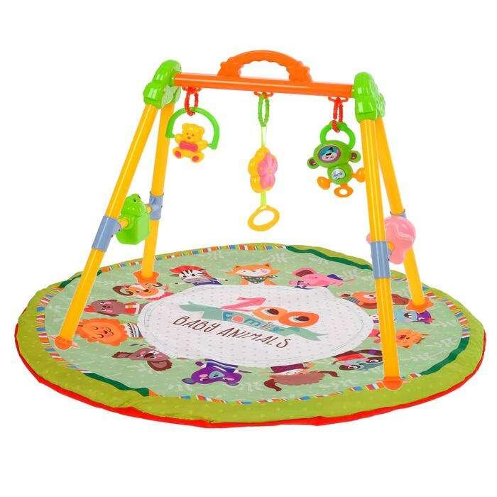 Игровой развивающий центр с ковриком «Зоо»