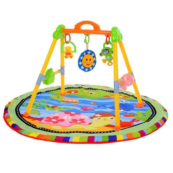 Игровой развивающий центр с ковриком «Черепашка»