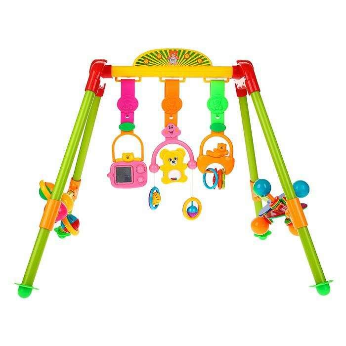 Игровой развивающий центр с погремушками «Малыш»