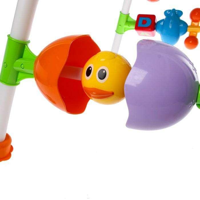 Игровой развивающий центр с погремушками «Забава»