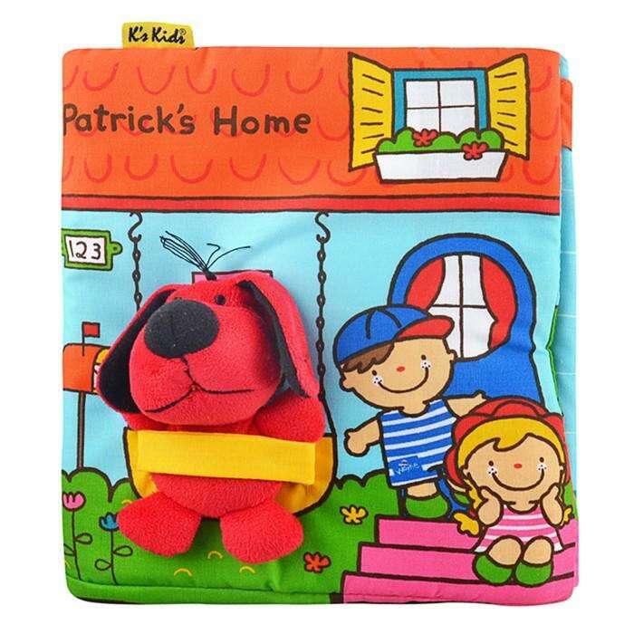 """Развивающая 3D-книжка «В гостях у Патрика», с игрушкой """"В гостях у Патрика"""", с игрушкой"""
